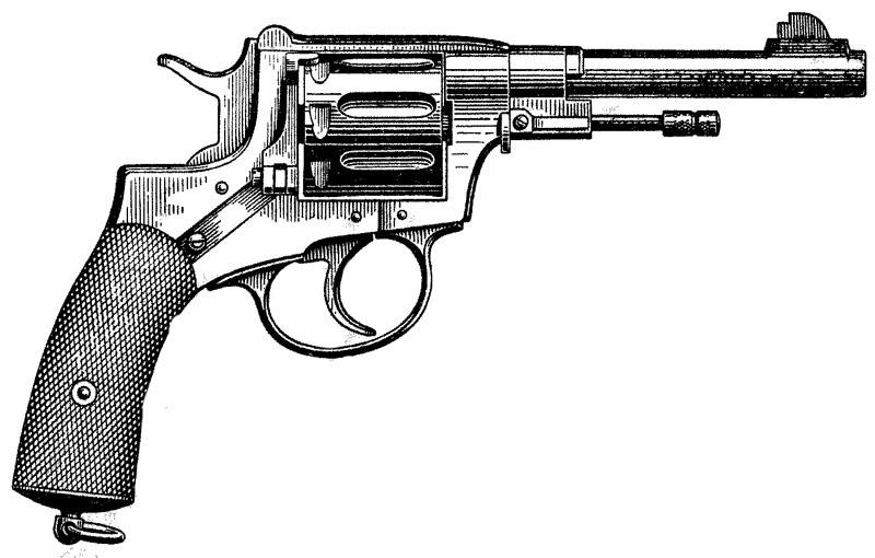 Лепаж. Револьверы Лепажа
