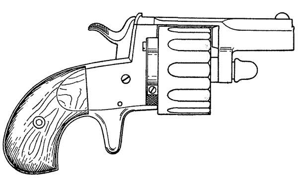 Особенностью револьвера